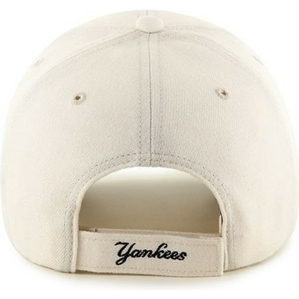 47-brand-curved-brim-mlb-new-york-yankees-smooth-cream-cap