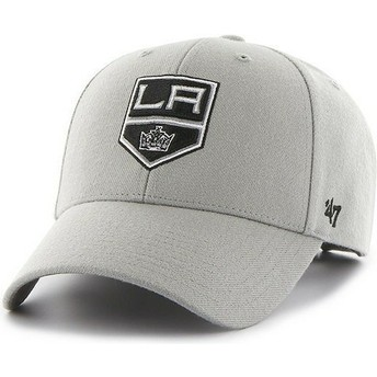 47 Brand Curved Brim NHL Los Angeles Kings Grey Cap
