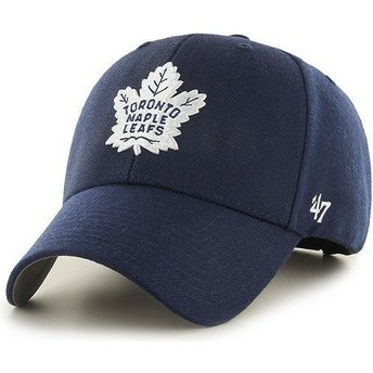 Gorra visera curva azul marino de NHL Toronto Maple Leafs de 47 Brand