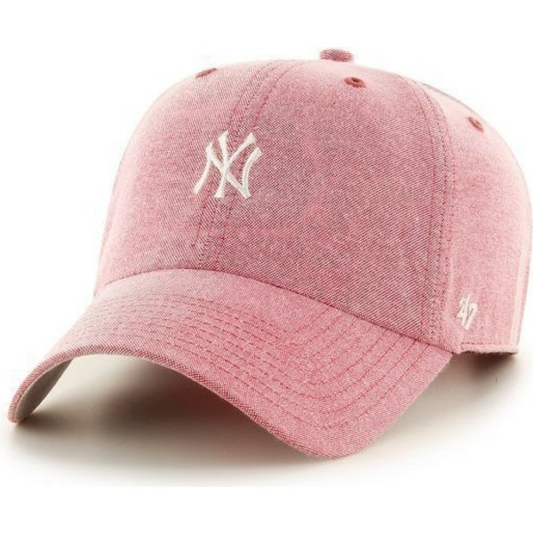 47-brand-small-white-logocurved-brim-small-logo-mlb-new-york-yankees-red-cap