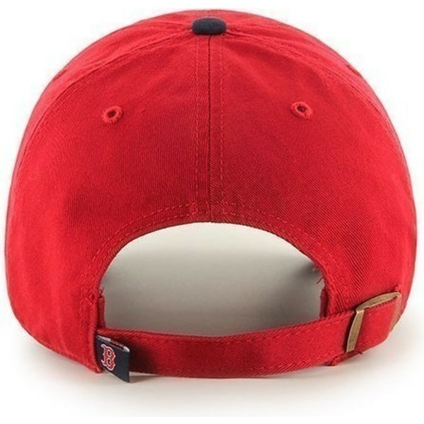 47-brand-curved-brim-front-logo-mlb-boston-red-sox-red-cap-with-black-visor