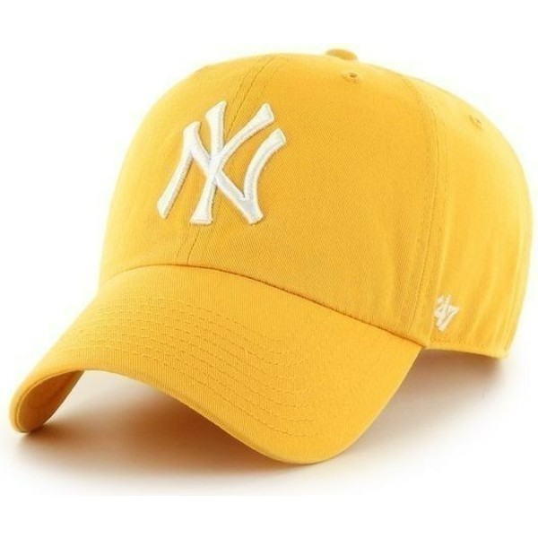 47-brand-curved-brim-large-front-logo-mlb-new-york-yankees-yellow-cap