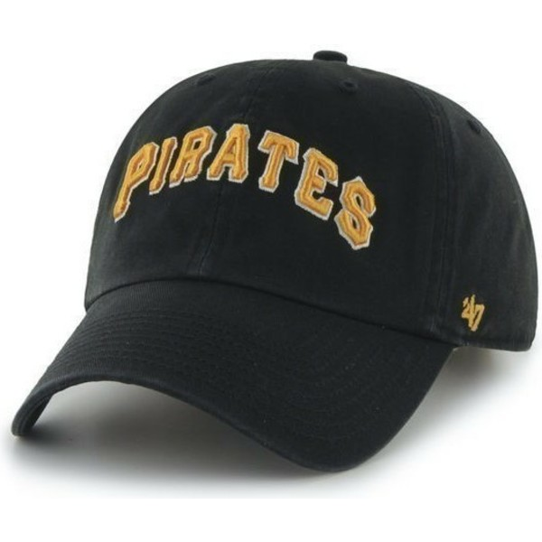 47-brand-curved-brim-large-front-name-mlb-pittsburgh-pirates-black-cap