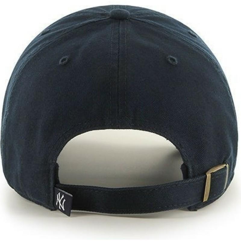 0387aa34f7f86 47 Brand Curved Brim Youth New York Yankees MLB Navy Blue Cap  Shop ...