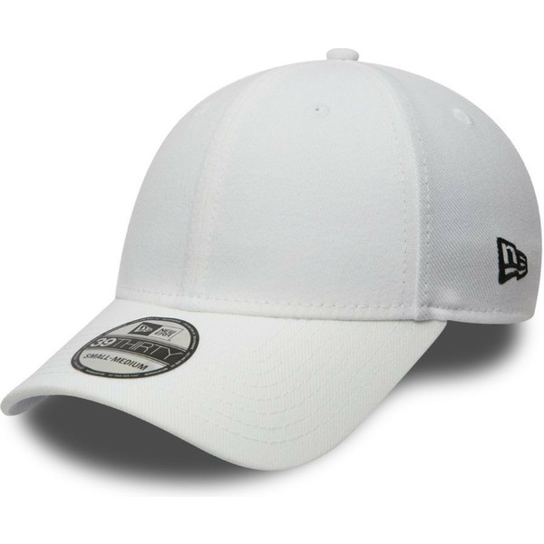 new-era-curved-brim-39thirty-basic-flag-white-fitted-cap