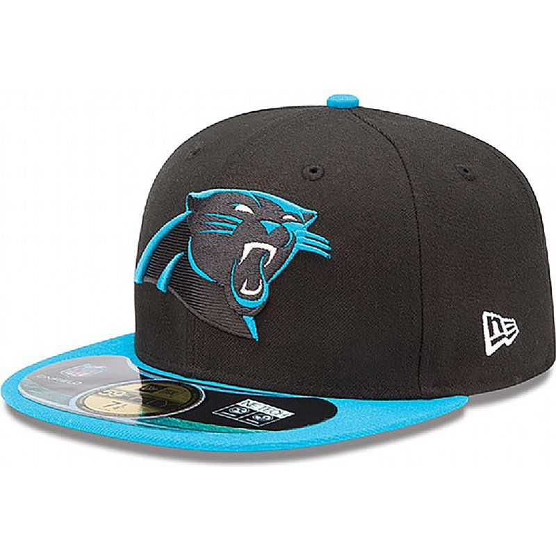 a53ee41d1 hot carolina panthers hat flat bill 1b85d 654fc