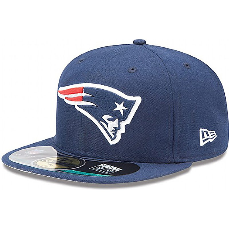 new-era-flat-brim-59fifty-authentic-on-field-game-new-england-patriots-nfl-blue-fitted-cap