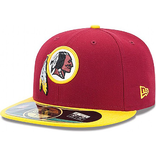 buy online afda6 b0c74 ... netherlands new era flat brim 59fifty authentic on field game washington  redskins nfl red fitted cap