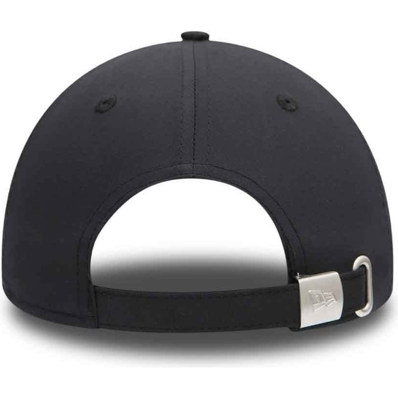 a83774824 New Era Curved Brim 9FORTY Flawless Logo New York Yankees MLB Black ...