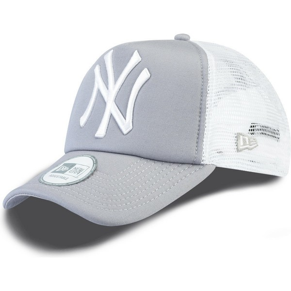 new-era-clean-a-frame-new-york-yankees-mlb-grey-trucker-hat