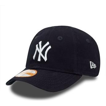 Gorra curva azul ajustable para niño 9FORTY Essential de New York Yankees MLB de New Era
