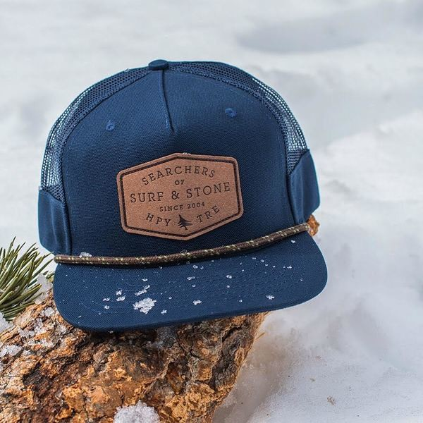 ae952dda3f2 HippyTree Navy Blue Trucker Hat  Shop Online at Caphunters